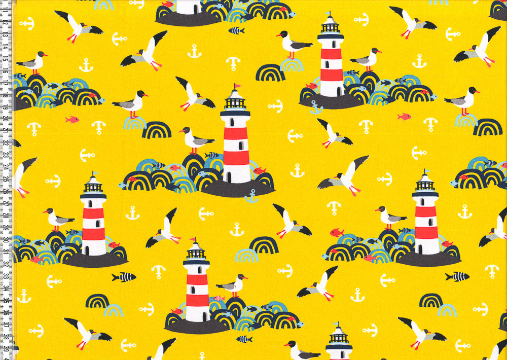 *Lighthouse Island*by Lila Lotta Jersey gelb SALE
