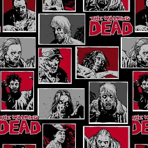 The Walking Dead Zombie Characters Baumwolle